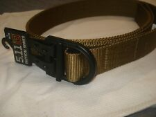 "5.11 Trainer Belt 1.5"" 59409 Coyote Brown Small 28-30 New"