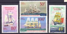 DAHOMEY 309-312 MnH zeilschepen; sailing ships; Segelschiffe 0954