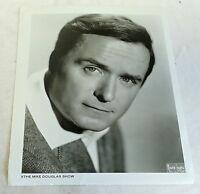 1960s photo ~ Mike Douglas head shot ~ The Mike Douglas Show