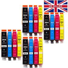 16x roto HP 364 XL Cartuchos de tinta para PhotoSmart 5520 5510 6520 b110a No OEM