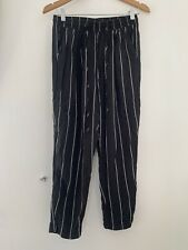 Ladies Pretty Little Thing Trousers 10 Black Polyester Casual <JS4184