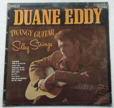 DUANE EDDY - TWANGY GUITAR SILKY STRINGS VINYL LP 1970