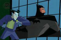 Batman Animated Series Original Production Cel Batman/Joker-Mad Love