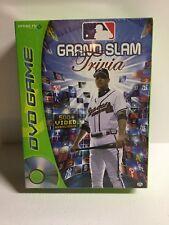 MLB Grand SlamTrivia DVD Game BRAND NEW &  Factory Sealed MAJOR LEAGUE BASEBALL