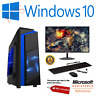 Cheap Gaming PC Intel Core i7 Win10 GTX1650 16GB RAM 120GB SSD 1TB HDD FORNITE