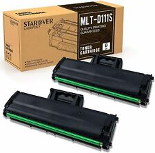 2PK MLT-D111S Toner Fit for Samsung Xpress M2070FW M2070W M2020W Printer & Chip