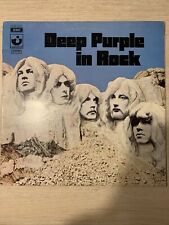LP IN ROCK - DEEP PURPLE - 3C 062-91442 - MADE IN ITALY 1970