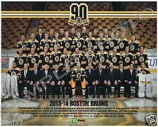 2013-2014 BOSTON BRUINS 8X10 TEAM PHOTO KREJCI BERGERON RASK IGINLA KRUG LUCIC