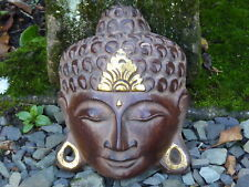 Buddha Mask Wooden Hand Carved 20cm.....
