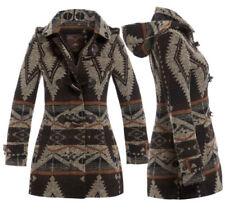 Manteaux et vestes marron en laine pour femme taille 38