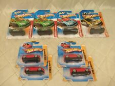 Hot Wheels Citroen C4 Rally Stunt Premiere Thrill Racers Lot of 8 New