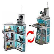 Kids Gift Marvel Avenger Super Heroes Tower Brick Model Building Blocks Toys DIY