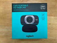 NEW Logitech C615 Portable HD Webcam 1080P Built in Mic Business SHIPS TODAY