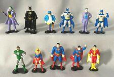 Vintage ERTL DC Comics Super Heroes 1990 Batman Diecast Metal Figurine Lot of 11
