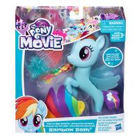 Hasbro My Little Pony The Movie Glitter and Style Seapony Rainbow Dash