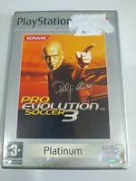 Pro Evolution Soccer 3 Konami Platinum - sony PLAYSTATION 2 Jeu De Pour Ps2