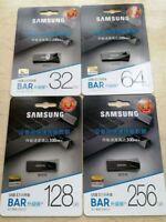 Samsung 32GB 64GB 128GB USB 3.1 Memory Flash Drive Bar Stick 200M/s Bar Thumb 4K