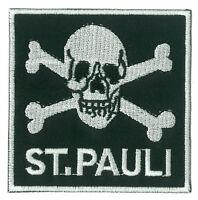 Patch écusson patche Sankt St Pauli football thermocollant brodé