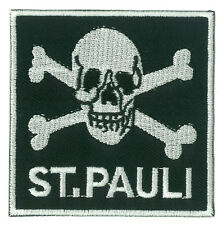 Patch écusson patche Sankt St Pauli football thermocollant brodé