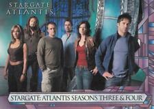 2008 Stargate Atlantis Season 3 & 4 promo card P1