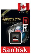 SanDisk Extreme Pro 32GB SDHC USH-1 Card (SDSDXXG-032G-GN4IN)