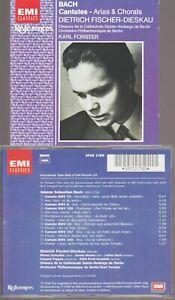Bach Cantates Arias & Chorals Cd Sampler Dietrich Fischer Forster