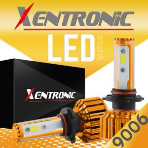 2016 6000K 9006 HB4 488W 48800LM High Power LED Headlight Kit Low Beam Bulbs