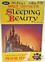 Vintage Walt Disney Sleeping Beauty Jigsaw Puzzle By Jaymar 100% COMPLETE