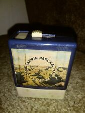 Vintage Souvenir Plastic Cigarette Pack Holder/Sliding Door (Grand Canyon, Az)