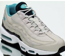 Nike Air Max 95 Essential Light Bone Sport Turquoise Black White Men Size 11 NEW