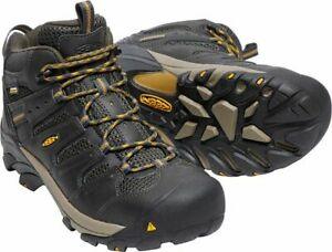Keen Men's Lansing Waterproof Steel Toe Safety Boots 1018079--Special
