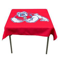"Fresno State University Bulldogs 48"" Table Cloth Overlay"