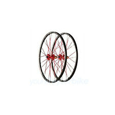 "AZONIC Outcast PEDALI frase 26"" 1790g 24l TUBELESS MTB XC All mountain trail ROSSO"