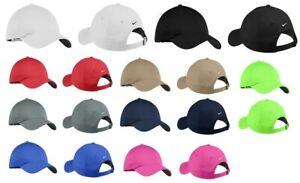 NEW NIKE-UNSTRUCTURED-SWOOSH ON BACK CAPS- LIGHTWEIGHT-COOL-GOLF-DAD-HATS