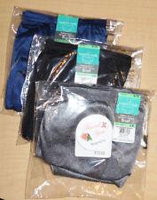 3 Vanity Fair Brief Nylon Panty Tailored Ravissant 15712 Gray Black Blue 8 XL