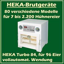 Heka Turbo 84 - Incubateur en plastique pour 96 oeufs, avec vollautomat. Twist