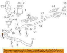 GM OEM Exhaust-Catalytic Converter & Pipe Nut 11588835