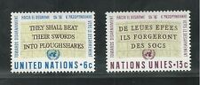UNITED NATIONS, NEW YORK # 177-178, 1967 DISARMAMENT, ANTI-NUCLEAR TESTS