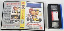 """VHS """"I 2 della Formula 1"""" AVO Film '96 Franco e Ciccio cult movie collezione-0FG"""