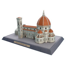 3D Model DIY Italy Florence Cathedral Craft Architectural Building Puzzle