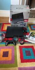 PS3 Slim Console Boxed 320GB With Games