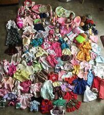 Baby Doll Clothing Lot Babies Clothes Accessories Vintage Hasbro Cpk Battat Ba+