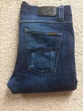 Nudie Jeans Lean Dean W31 L31 Dry Deep Dark