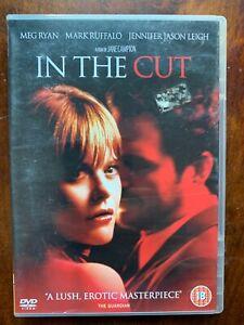 In the Cut DVD 2003 Erotic Thriller Movie w/ Meg Ryan and Mark Ruffalo