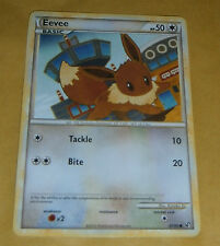 POKEMON TCG CARD - HEART GOLD SOUL SILVER UNDAUNTED - EEVEE 47/90