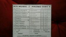 COMPILATION - PROMO DISC RTI (12 TRACKS CECCHETTI PAMELA BOCELLI...). CD