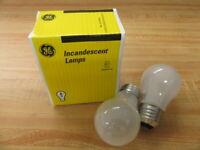 General Electric 40A15/F GE Bulb 40 Watt 27451 (Pack of 2)