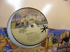CHER Git Down (Guitar Boogie)/Hell On Wheels 12 Inch 1979 Casablanca Records EX