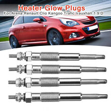 4Pcs Diesel Heater Glow Plugs For Opel auxhall Arena Renault Clio Kangoo Trafic