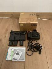 Nikon D70S Digital SLR Camera Body Only 3 batteries boxed
